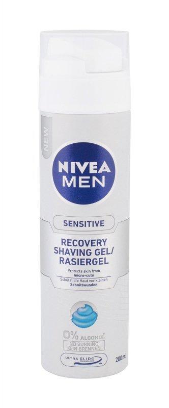 Nivea Men Sensitive (Żel do golenia, M, 200ml)