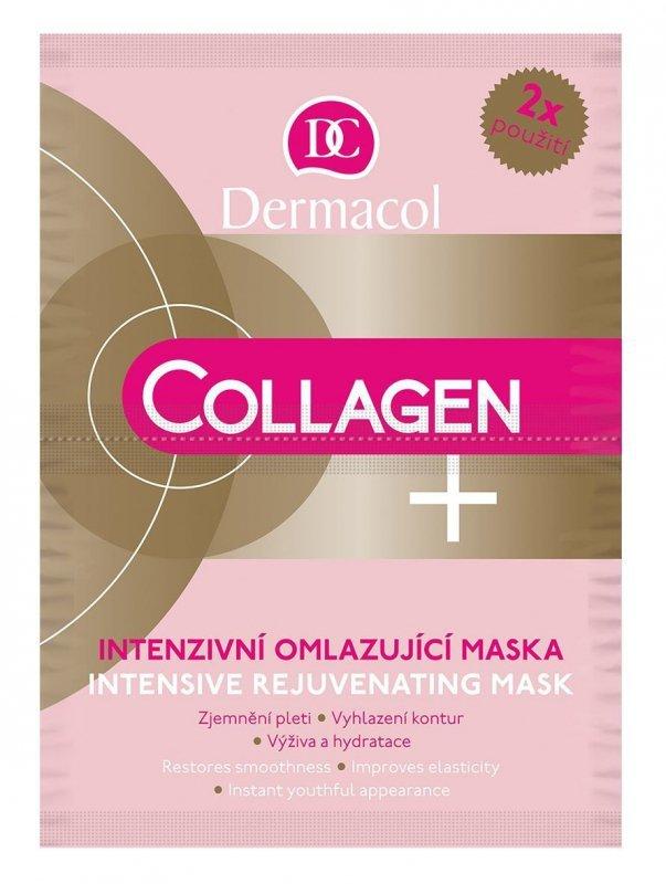 Dermacol Collagen+ (Maseczka do twarzy, W, 2x8g)