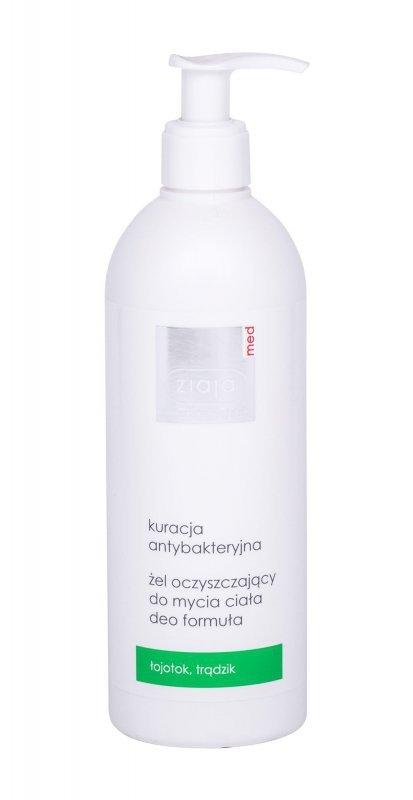 Ziaja Med Antibacterial Treatment (Żel pod prysznic, U, 400ml)