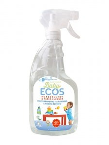 ECOS, Płyn do mycia zabawek i akcesoriów dziecięcych, bezzapachowy, 650ml