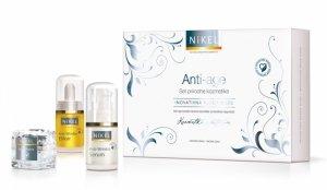NIKEL, Zestaw Prezentowy Pielęgnacja Cery przeciwzmarszczkowa, (3 produkty)