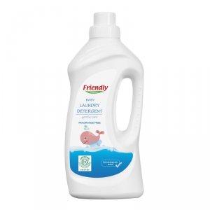 Friendly Organic, Płyn do prania ubranek dziecięcych, bezzapachowy 1L, 20 prań