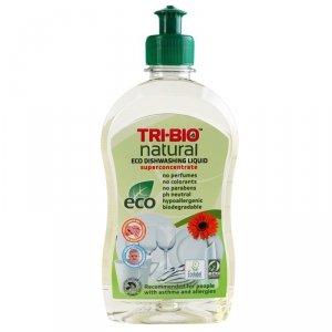 TRI-BIO, Ekologiczny Skoncentrowany Płyn do Mycia Naczyń, 420 ml