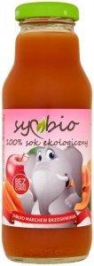 SYMBIO Sok marchew + jabłko + brzoskwinia bez cukru BIO 300ml
