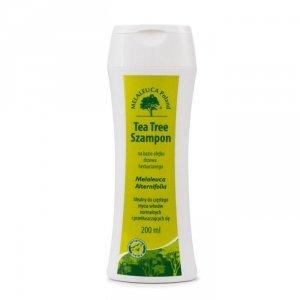 Tea Tree Szampon do włosów 200ml MELALEUCA