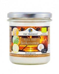 PIĘĆ PRZEMIAN Pasta kokosowa BIO 250g