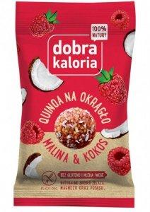 Quinoa na okrągło - Malina i kokos 24g DOBRA KALORIA - KUBARA