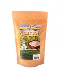 PIĘĆ PRZEMIAN Mąka owsiana bezglutenowa pełnoziarnista 500g