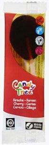LIZAKI O SMAKU WIŚNIOWYM BEZGLUTENOWE BIO 13 g - CANDY TREE