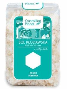 SÓL KŁODAWSKA GRUBO MIELONA 600 g - CRYSTALLINE PLANET