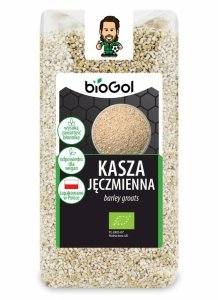 KASZA JĘCZMIENNA BIO 500 g - BIOGOL