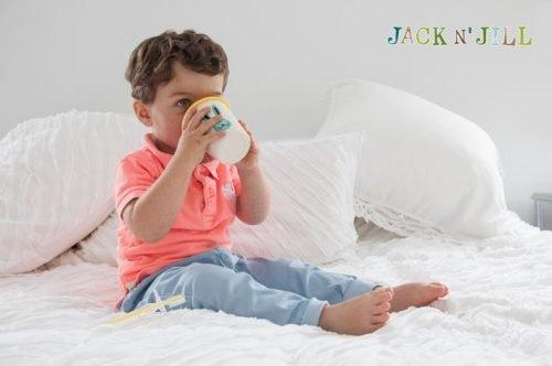 Jack N'Jill, Silikonowa nakładka na kubek, ZIELONA