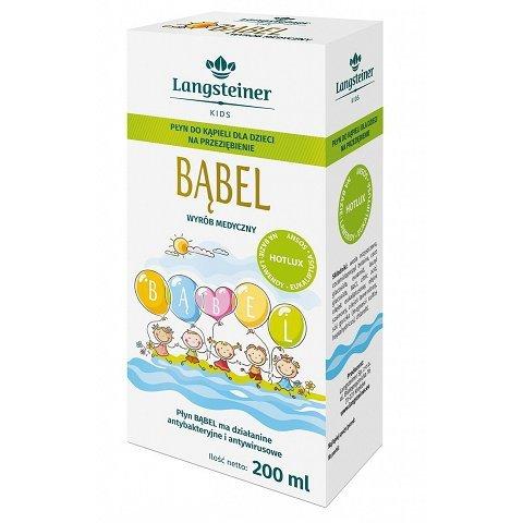 Bąbel - płyn do kąpieli dla dzieci na przeziębienie 200ml LANGSTEINER