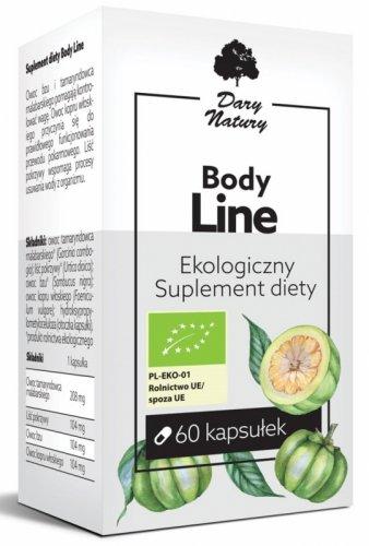 BODY LINE BIO 60 KAPSUŁEK (520 mg) - DARY NATURY