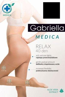 Gabriella Medica Relax 40 DEN Code 111 przeciwżylakowe rajstopy korygujące