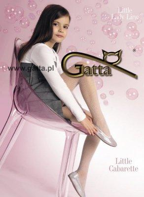 LITTLE CABARETTE - Rajstopy kabaretki dziecięce