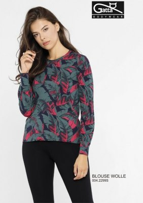 BLOUSE WOLLE