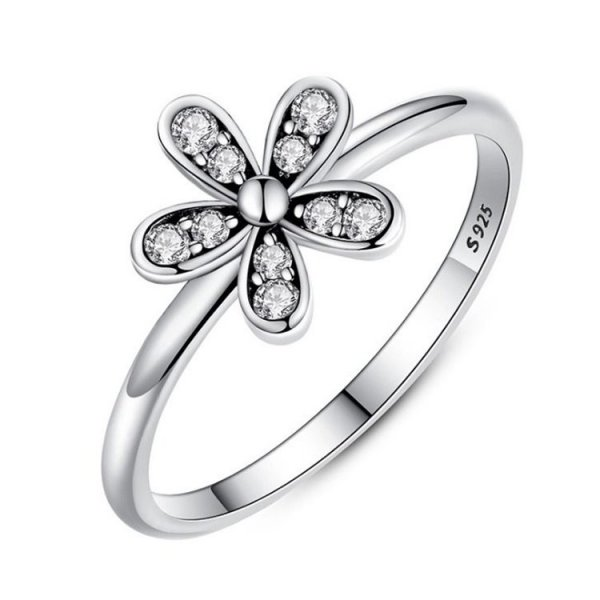 PIERŚCIONEK SREBRO925 SWEET FLOWER PE16, Rozmiar pierścionków: US7 EU14