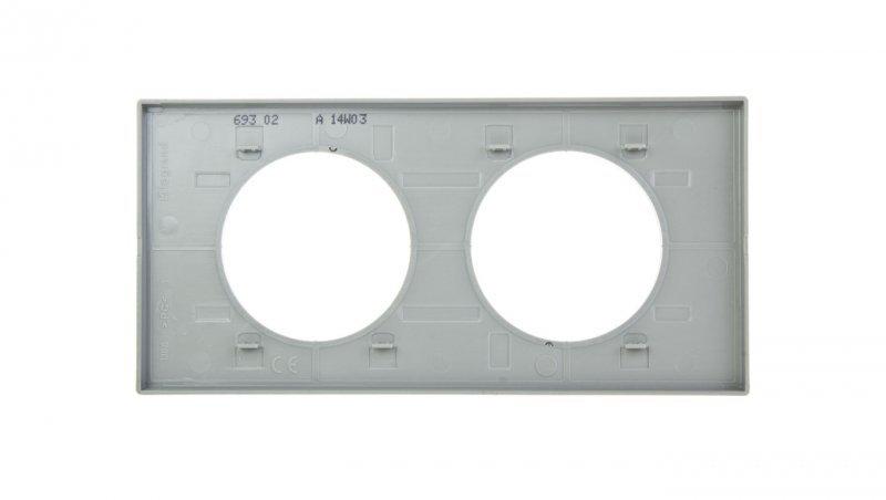 CELIANE Ramka podwójna czarny szkło Poziomy i pionowy Szkło i Porcelana 069302