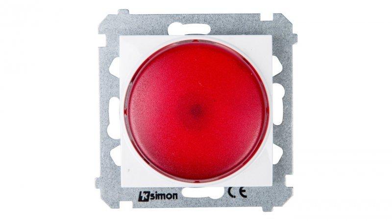 Simon 54 Sygnalizator świetlny LED czerwone światło biały DSS2.01/11