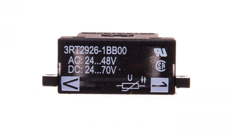 Układ ochronny warystor 24-48V AC, 24-70V DC 3RT2926-1BB00