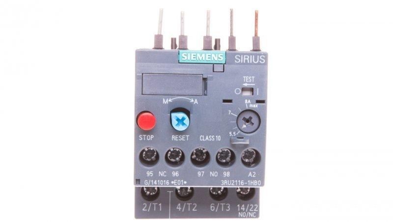 Przekaźnik termiczny 5,5-8A S00 3RU2116-1HB0