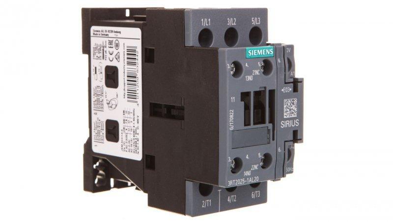 Stycznik mocy 17A 3P 230V AC 1Z 1R S0 3RT2025-1AL20