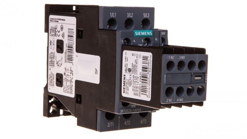 Stycznik mocy 25A 3P 230V AC 2Z 2R S0 3RT2026-1AP04