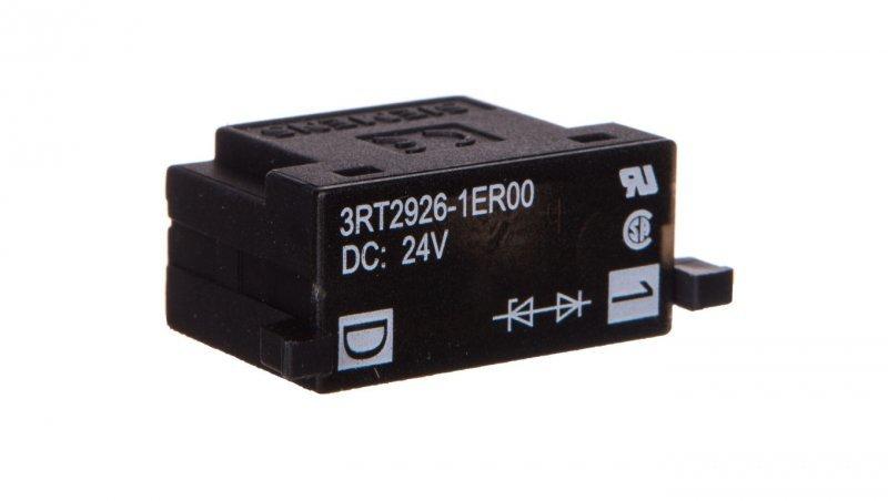 Układ tłumiący dioda 24V DC ze wkaźnikiem LED S0 3RT2926-1ER00