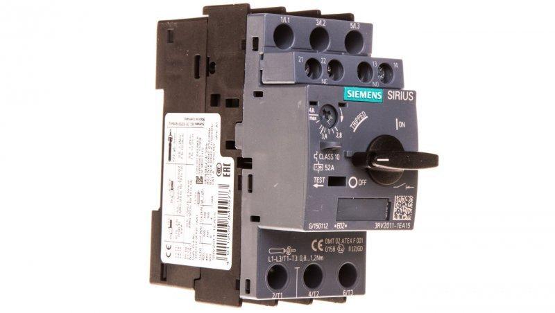 Wyłącznik silnikowy 3P 2,8-4A 1Z 1R S00 3RV2011-1EA15