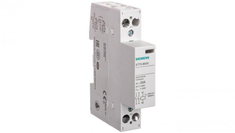 Stycznik modułowy 20A 2Z 0R 230V AC 5TT5800-0