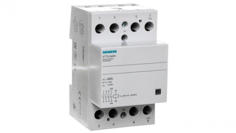 Stycznik modułowy 40A 4Z 0R 230V AC 5TT5840-0