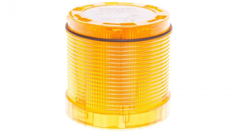 Moduł świetlny żółty z diodą LED 24V AC/DC światło ciągłe 70mm 8WD4420-5AD