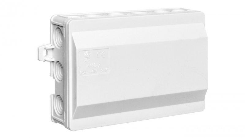 Puszka odgałęźna natynkowa 18-torowa 135x90x40 Klik IP54 szara 6410-30
