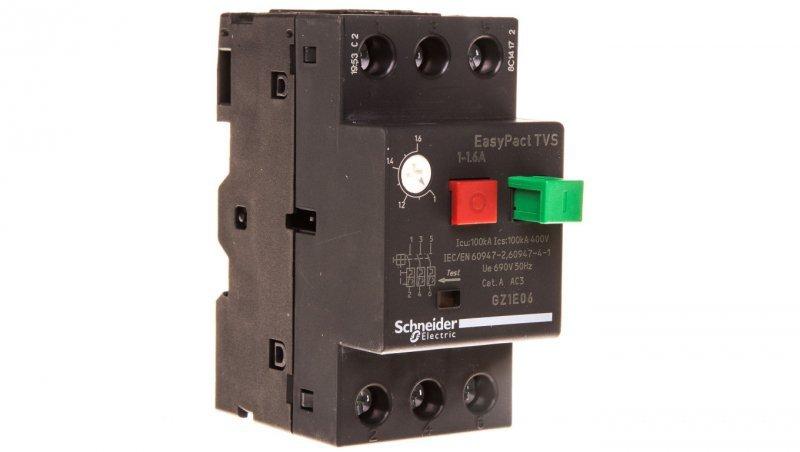 Wyłącznik silnikowy 3P 0,55kW 1,0-1,6A GZ1E06