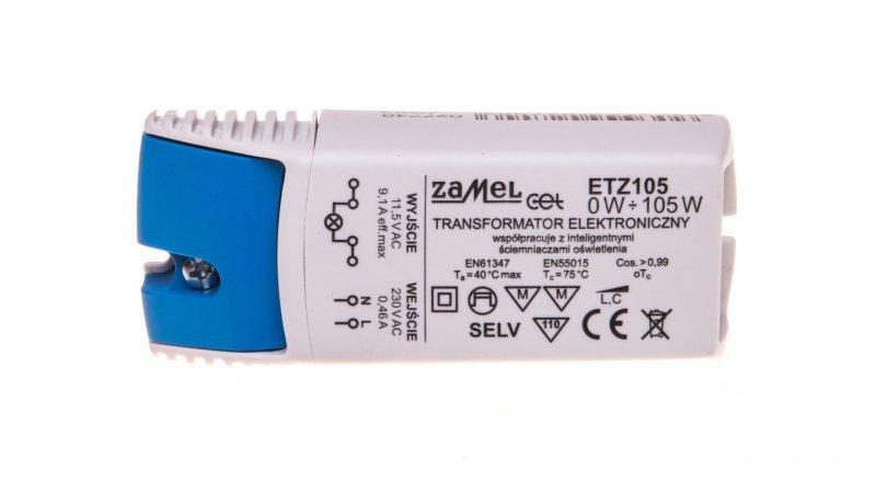 Transformator elektroniczny 230/11,5V 0-105W ETZ105 LDX10000038