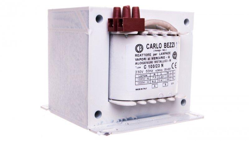 Statecznik do lamp wyładowczych (rtęć/metal.) 1000W 8,2-7,5 A 230V C100/23N CB4301