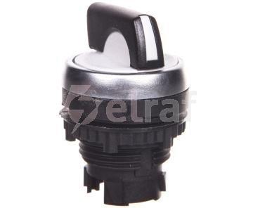 OSMOZ Napęd przełącznika obrotowego 22mm 3 pozycje czarny bez podświetlenia powrotny 023928