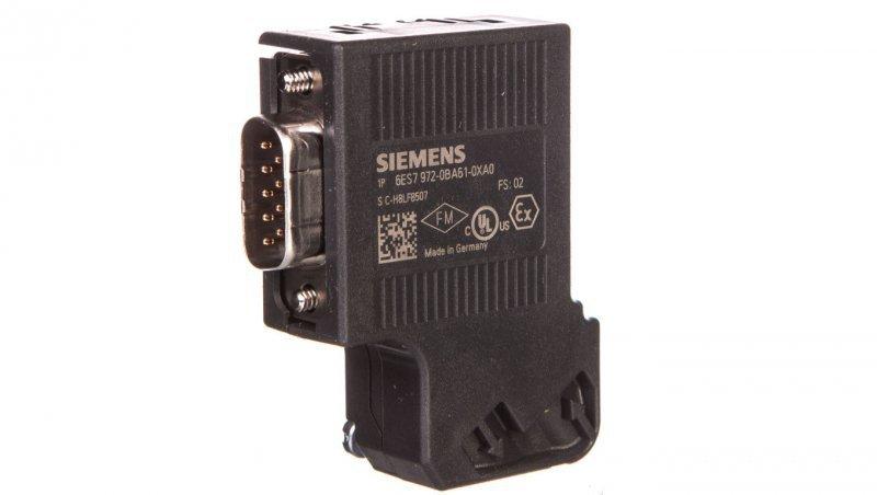 Wtyczka RS485 PROFIBUS SIMATIC S7 300 6ES7972-0BA61-0XA0
