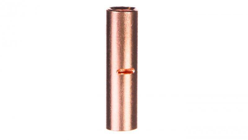 Końcówka /tulejka/ łącząca miedziana niecynowana 10mm2 LN10 /100szt./