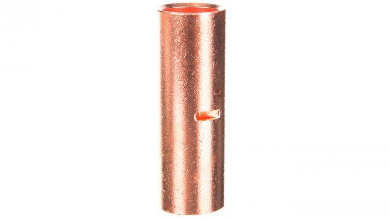 Końcówka /tulejka/ łącząca miedziana niecynowana 240mm2 LN240