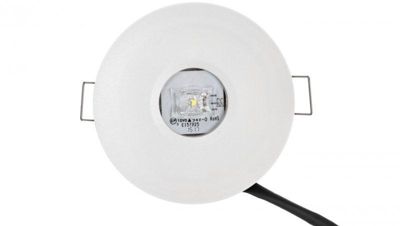 Oprawa awaryjna AXP IP65/20 ECO LED 3W 330lm (opt. universal) 1h jednozadaniowa AXPU/3W/E/1/SE/X/WH