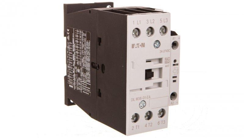 Stycznik mocy 38A 3P 24VDC 0Z 1R DILM38-01-EA(RDC24) 190008