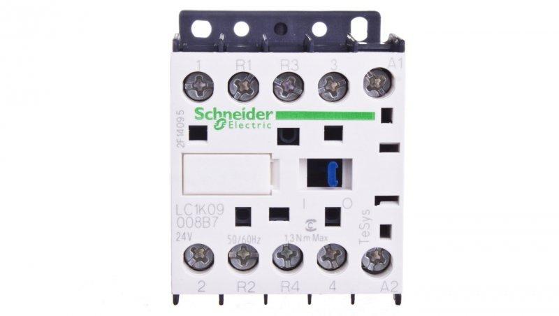Stycznik mocy 9A 2Z 2R 24V AC LC1K09008B7