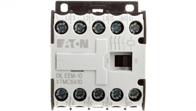 Stycznik mocy 6A 3P 24V AC 1Z 0R DILEEM-10(24V50/60HZ) 051596