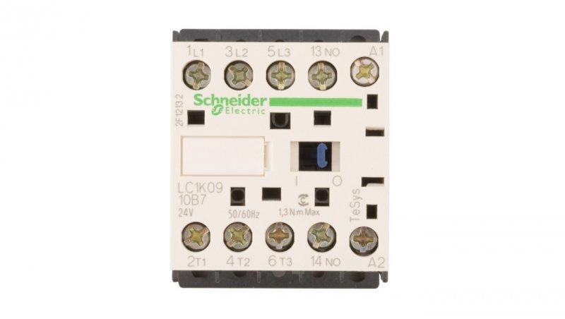 Stycznik mocy 9A 3P 24V AC 1Z 0R LC1K0910B7
