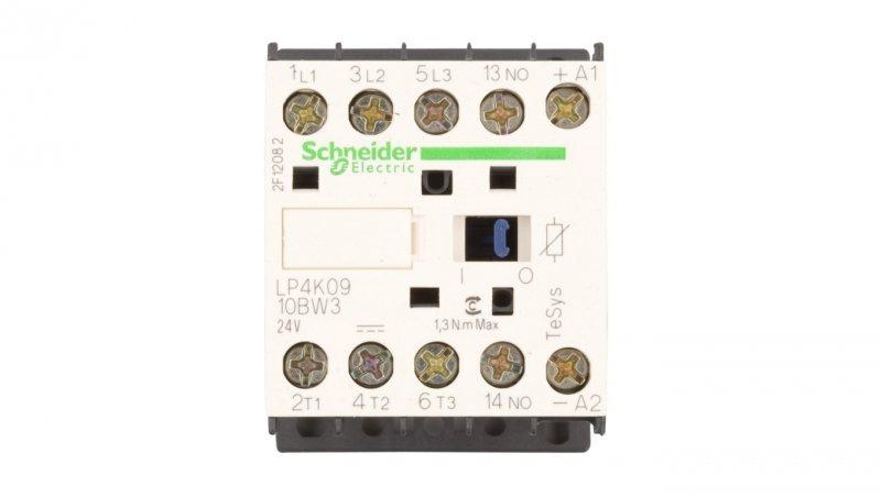 Stycznik mocy 9A 3P 24V DC 1Z 0R LP4K0910BW3