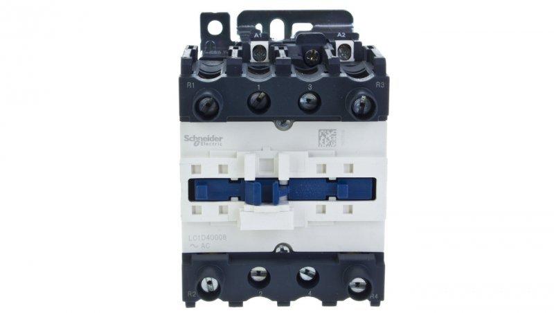 Stycznik mocy 40A 2Z 2R 230V AC LC1D40008P7