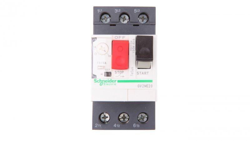 Wyłącznik silnikowy 3P 7,5kW 13-18A GV2ME20