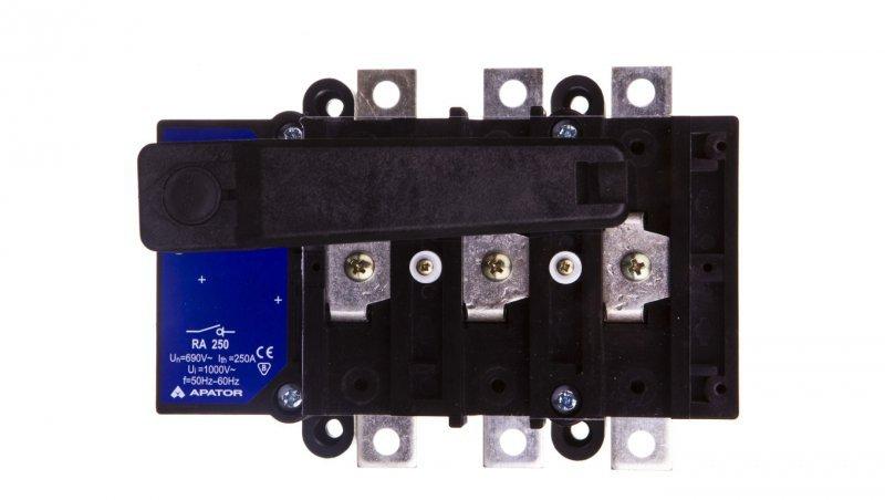 Rozłącznik izolacyjny 3P 250A RA 250 P3/R 63-822982-061